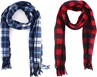 2d8d138a55252 Ramanta Combo of Men's Women's Casual Soft and Warm Woolen Mufflers for  Winter (Assorted Colors