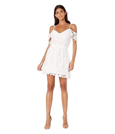 Jack by BB Dakota Take Me Downtown Dress (Off-White) Women