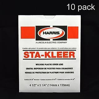 Harris Welding Hood/Helmet Large Clear Lens Cover 4.5