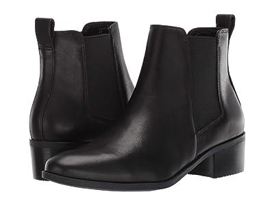 Steve Madden Dover Bootie (Black Leather) Women