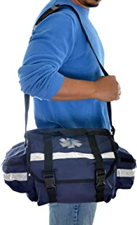 Dealmed First Responder Trauma Bag, Medium, Blue
