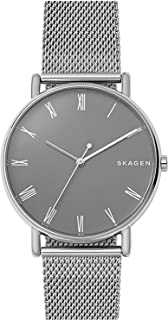 SKAGEN SKW6428 Signatur Steel-Mesh Watch [スカーゲン] シグネチャー シルバーステンレス メッシュバンド 腕時計 [並行輸入品]