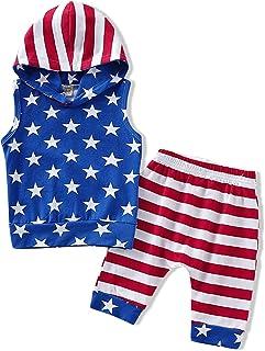 GRNSHTS Baby Boys Outfits Letters Printed T-Shirt + Plaid Shorts Set