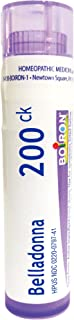 Boiron Belladonna 200CK, 80 Pellets, Homeopathic Medicine for Fever