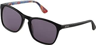 Carlos by Carlos Santana Polarized Sunglasses, Cassedy, Matte Black, Size 53mm