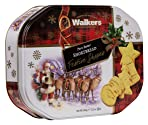 Walkers Shortbread Festive Shapes Tin, 350g