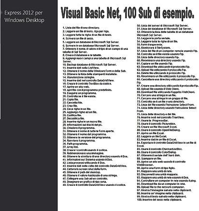 Visual Basic - 100 Sub di esempio