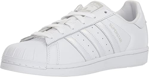 Adidas Originals Wohommes Superstar chaussures Running blanc gris, 9 M US