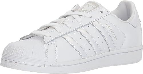 Adidas Originals Wohommes Superstar chaussures FonctionneHommest blanc gris, 11 M US