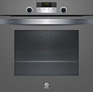 Balay Horno 3HB5358A0 MULTIFUNCION-AQUALIS Gris Aq, 71 litros, Antracita