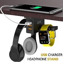 استند شارژر هدفون و موبایل محصول COZOO با 3 پورت شارژ