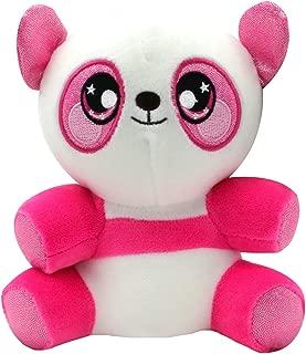 Squeezamals 3Deez, Slow-Rise Foam Stuffed Animals, Panda-Samantha