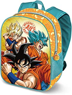 Dragon Ball Saiyan 3D - Mochila Infantil, Multicolor, 31 cm