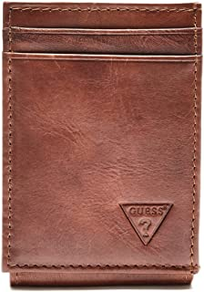 GUESS mens 31GU16X005 Naples & Montana Slim Front Pocket Wallet Wallet