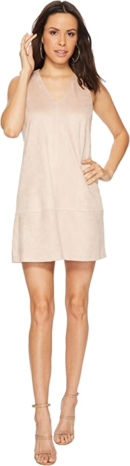 Bishop + Young - Faux Suede Shift Dress