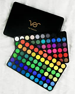 Ver Beauty Take Me Back To Summer 120 Colors Shimmer and Matte Professional Highly Pigmented Eyeshadow Palette Collection Makeup Cosmetics Kit Eye Set