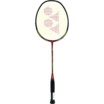 Yonex Nanoray 68 Light Rudy Hartono Special Edition Badminton Racquet with free Full Cover ( Red/Black, Graphite, G4 - 77 grams, 30 lbs Tension)