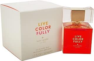 Kate Spade Live Colorfully Eau de Parfum Spray For Women, 1.7 Fl Oz.