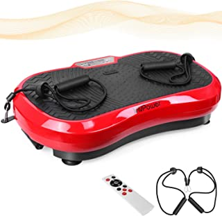 Mvpower Fitness Plataforma Vibratoria, Dispositivo con Oscilante 3D ...
