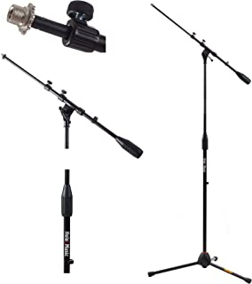 Best Hola! Music HPS-101TB Professional Tripod Microphone Mic Stand with Telescopic Boom, Black Review