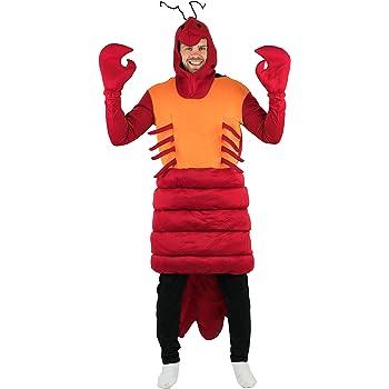 Bodysocks® Disfraz de Langosta Adulto: Amazon.es: Juguetes y juegos