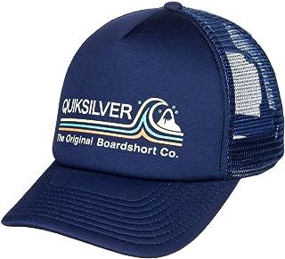 Quiksilver™ Standards - Trucker Cap - Truckerkappe - Garçon 8-16 Bleu (Navy Blazer), Taille Unqiue