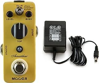 Mooer Acoustikar Acoustic Guitar Simulator Pedal w/ Power Supply