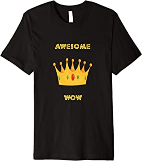 Awesome Hat Of King WOW T-shirt 2016