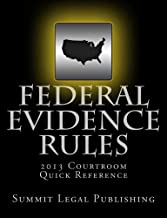 Federal Evidence Rules Courtroom Quick Reference: 2013