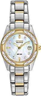 Eco-Drive Classic Quartz Womens Watch, Stainless Steel,...