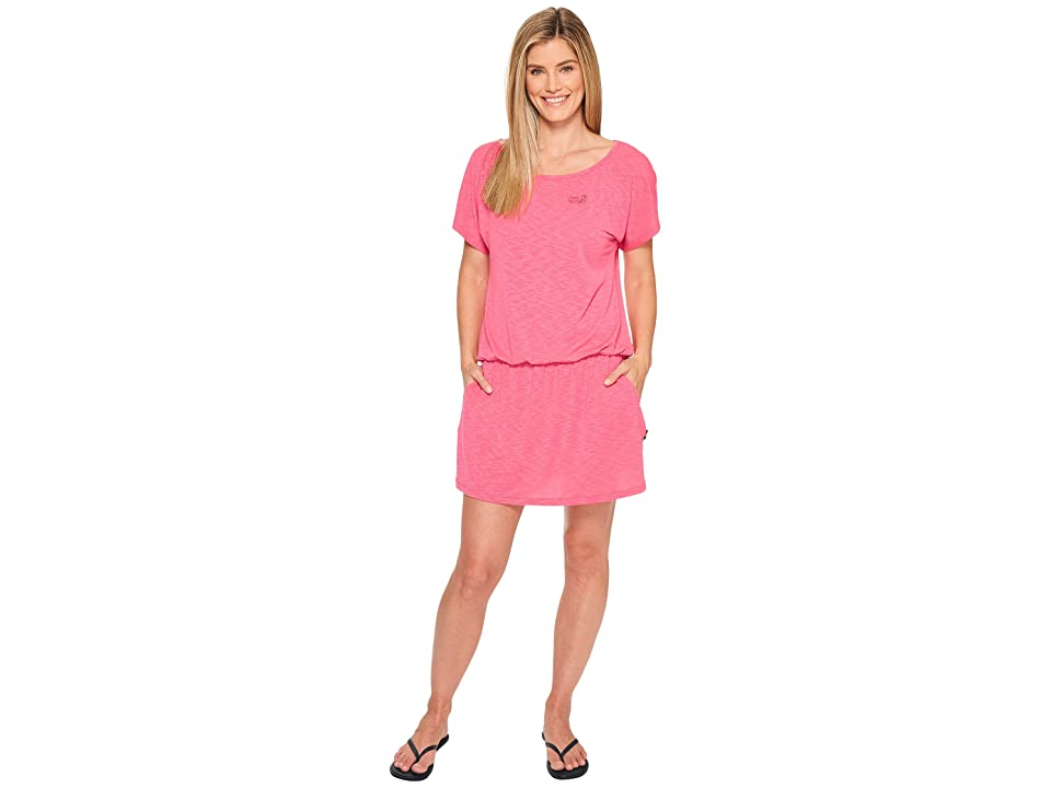 Jack Wolfskin Travel Dress (Tropic Pink) Women