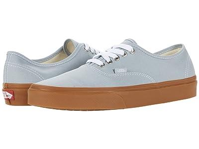 Vans Authentic ((Gum) High-Rise/True White) Skate Shoes