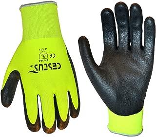 Cestus NS Grip Latex Micro-Coated Glove, Green, XL