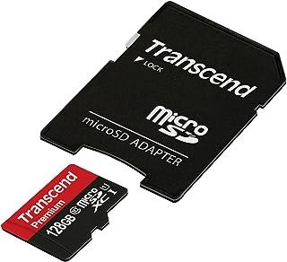 旧モデル 【Amazon.co.jp限定】Transcend microSDXCカード 128GB Class10 UHS-I対応 TS128GUSDU1PE (FFP)