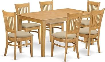 Best 7 pc oak dining set Reviews