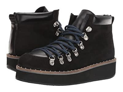 Free People Durango Hiker Boot (Black) Women