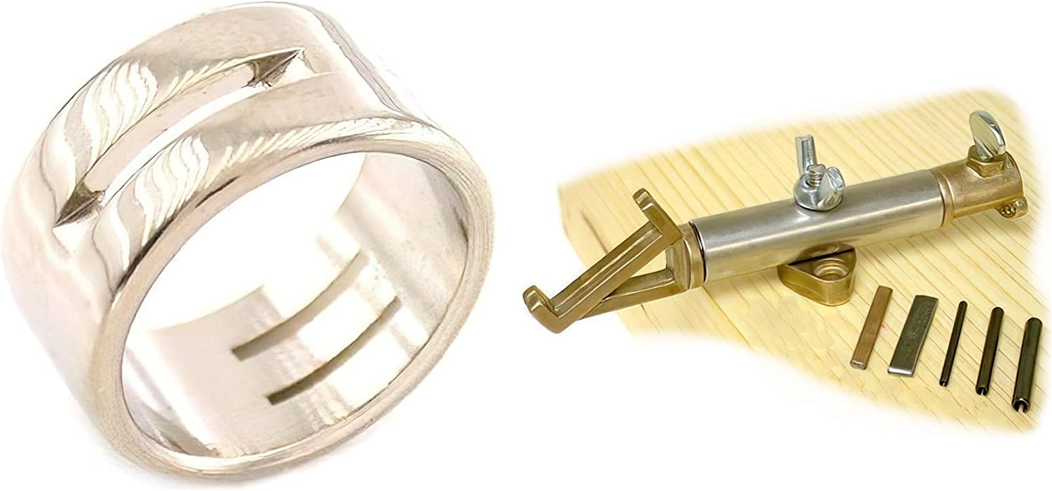 Brand new Stainless Max 43% OFF Steel Linking Ring Jiffy To Jump Maker Jewelers