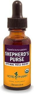 Herb Pharm Certified Organic Shepherd's Purse Liquid Extract - 1 Ounce