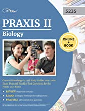 Praxis II Biology Content Knowledge (5235) Study Guide 2019-2020: Exam Prep and Practice Test Questions for the Praxis 523...