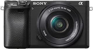 ソニー SONY ミラーレス一眼 α6400 パワーズームレンズキット E PZ 16-50mm F3.5-5.6 OSS ブラック 幅 120mm 高さ 66.9mm 奥行き 48.8mmILCE-6400L B