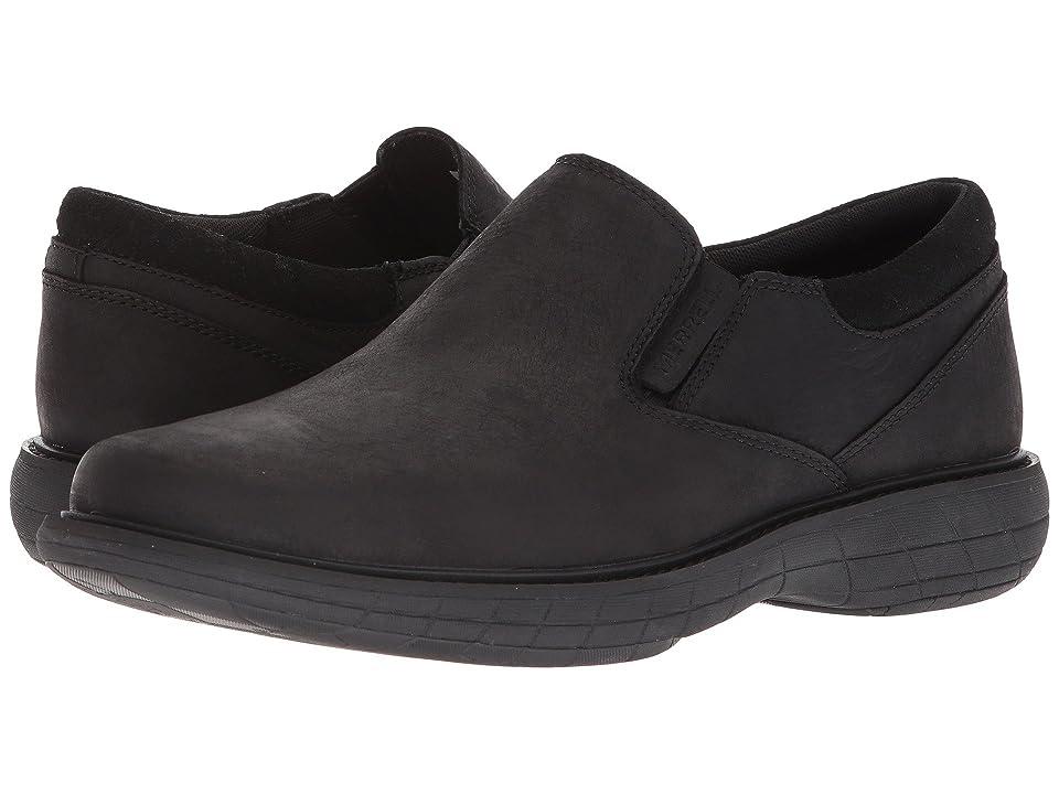 Merrell World Vue Moc (Black) Men's Shoes