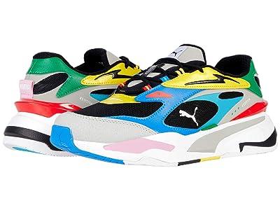 PUMA RS-Fast INTL (Puma Black/Gray Violet/French Blue) Shoes