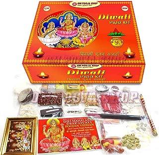 Om Pooja Shop Diwali Poojan Samagri/Deepawali Puja Kit