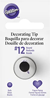 Round Decorating Piping Tip #12