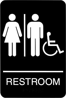 universal restroom signs