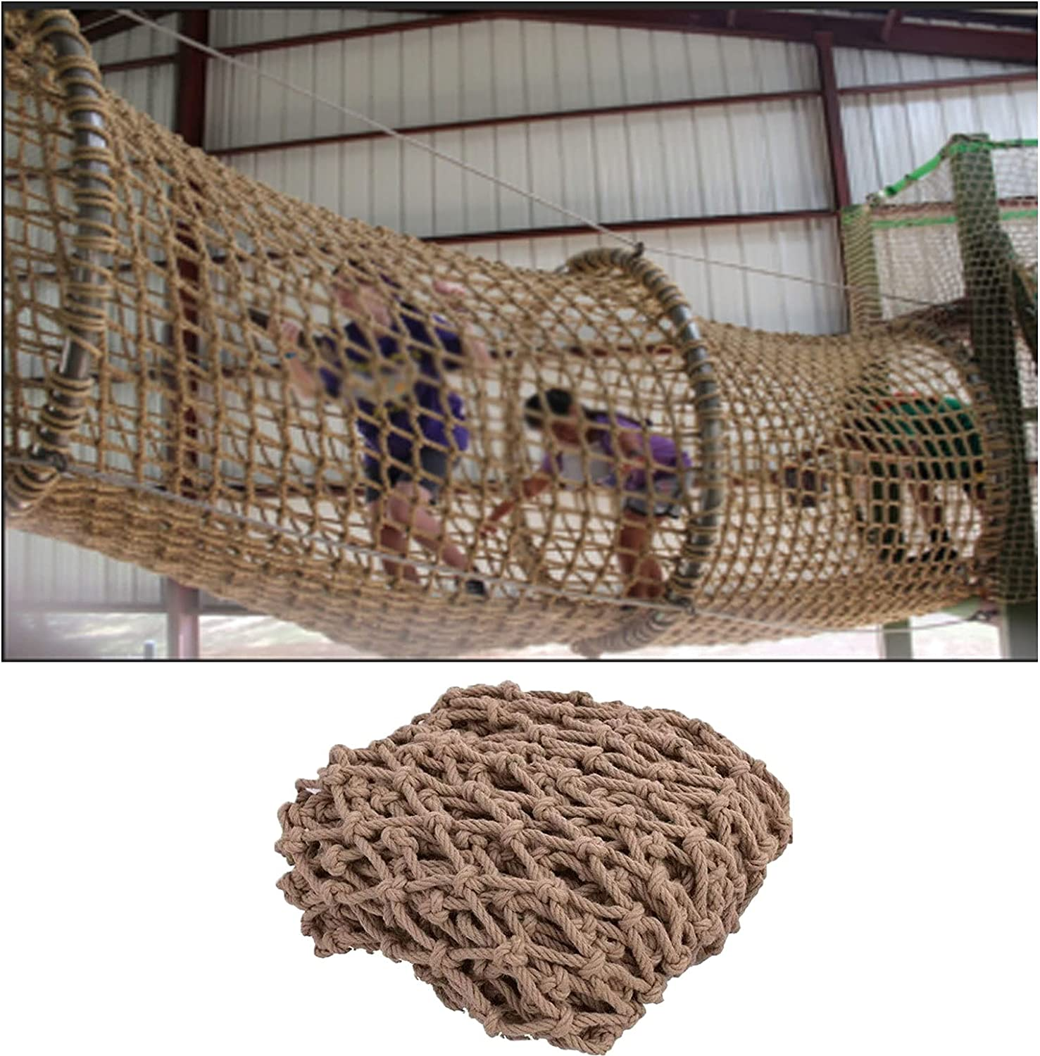 Climbing Net Popular products Direct sale of manufacturer for Kids Playground Hemp Rope Safety Decor