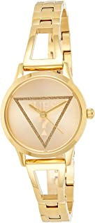 GUESS Womens Quartz Watch, Analog Display And Stainless Steel Strap - GW0002L2