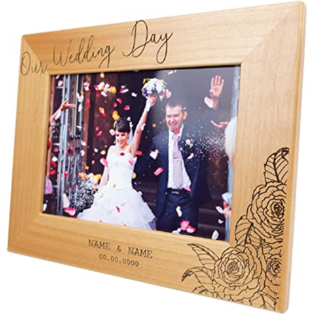 Winding Down Together Wooden Picture Frame Wedding Day Picture Frame Wedding Gifts Anniversary Gift Personalized Picture Frames