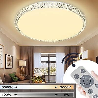 Design LED Ultraslim Deckenleuchte Wandlampe Wohnzimmer Flurleuchte Deckenlampe
