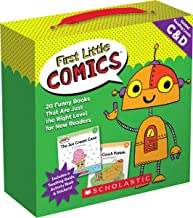 First Little Comics Parent Pack: Levels C & D: 20 Funny Books That Are Just the Right Level for New Readers PDF